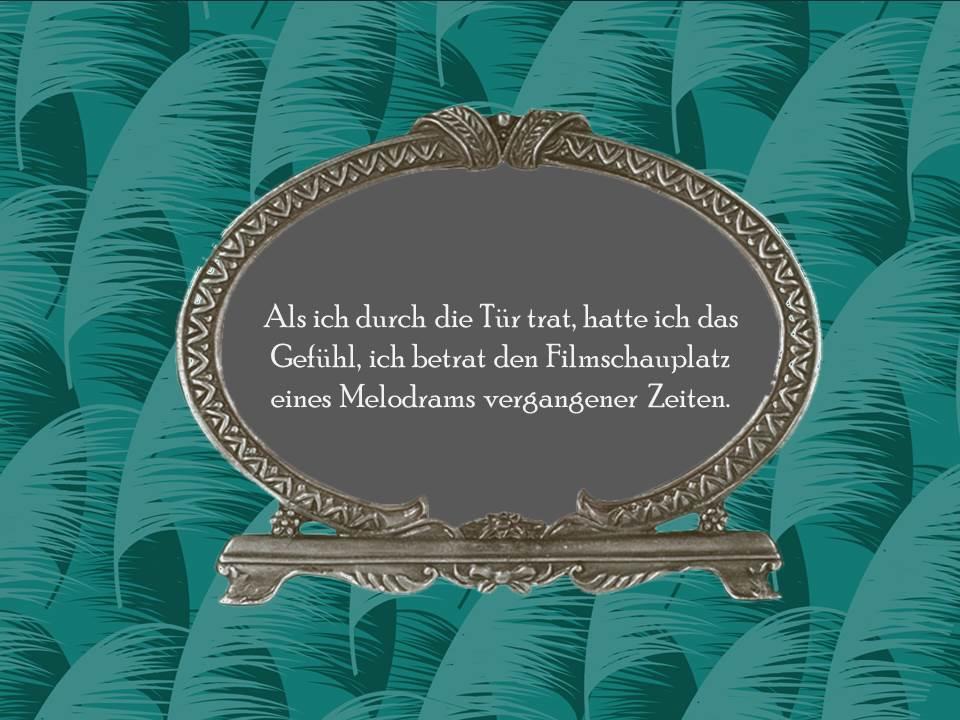 Die Fee im Absinth - Melodram - Eine Lovestory von Janina Venn-Rosky