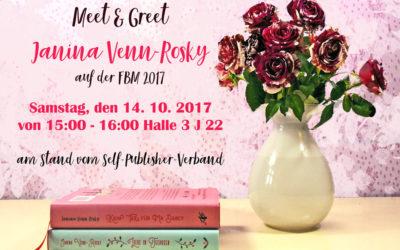 Triff Janina Venn-Rosky auf der FBM 2017
